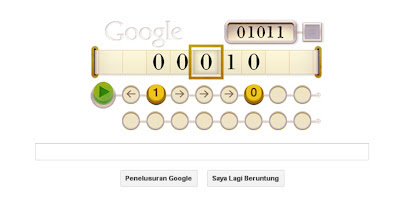 Google doodle celebrating 100th birth anniversary Alan Turing