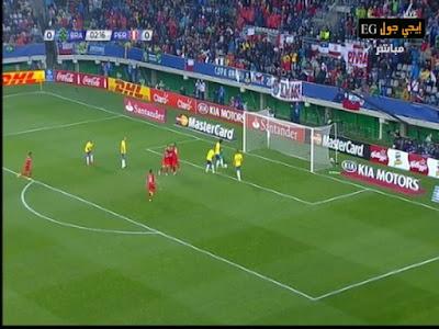 اهداف مبارة البرازيل 2 - 1 البيرو  فى كوبا امريكا
