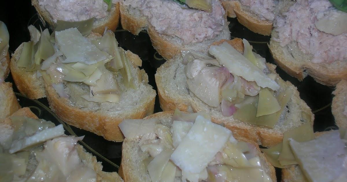 La cucina di alice crostini freddi - La cucina di alice ...