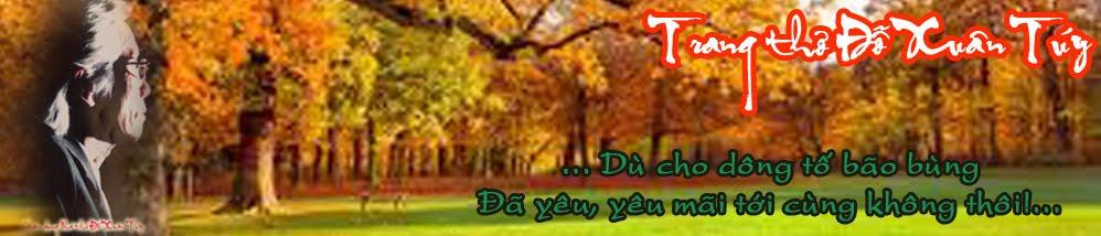 Trang thơ Đỗ Xuân Túy