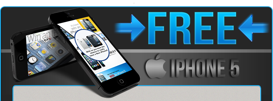 Free Iphone 5 Offer applies to World Wide