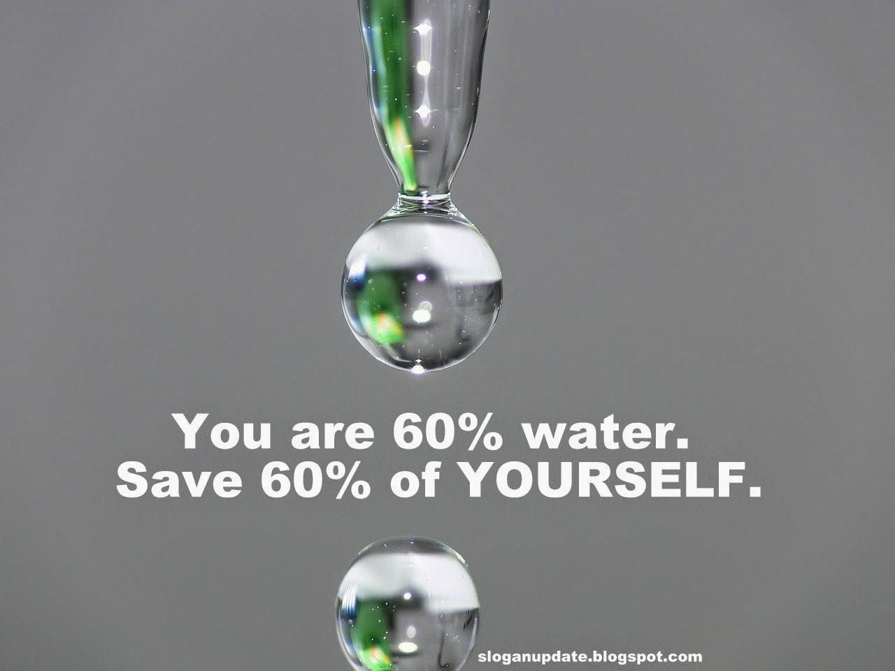 Slogan Save Water 103