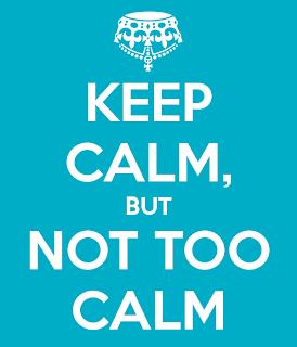 Too calm?