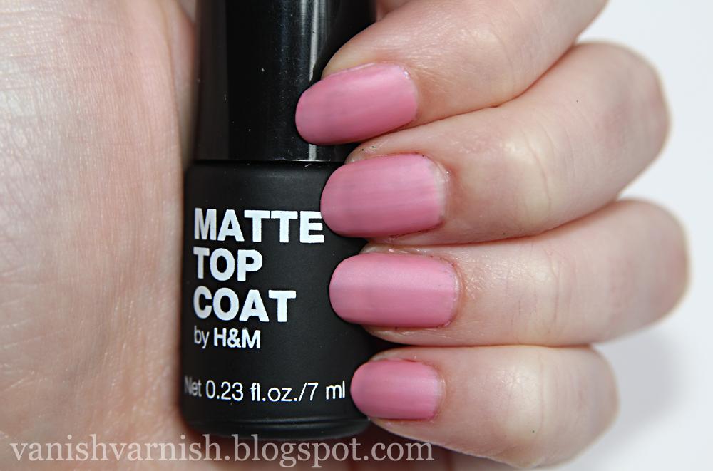 Och H&m Matte Top Coat