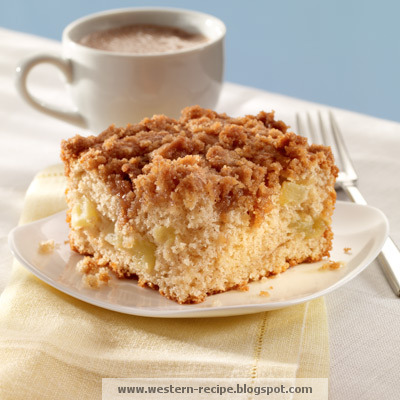 Western Food Recipe: Cinnamon Apple Coffee Cake