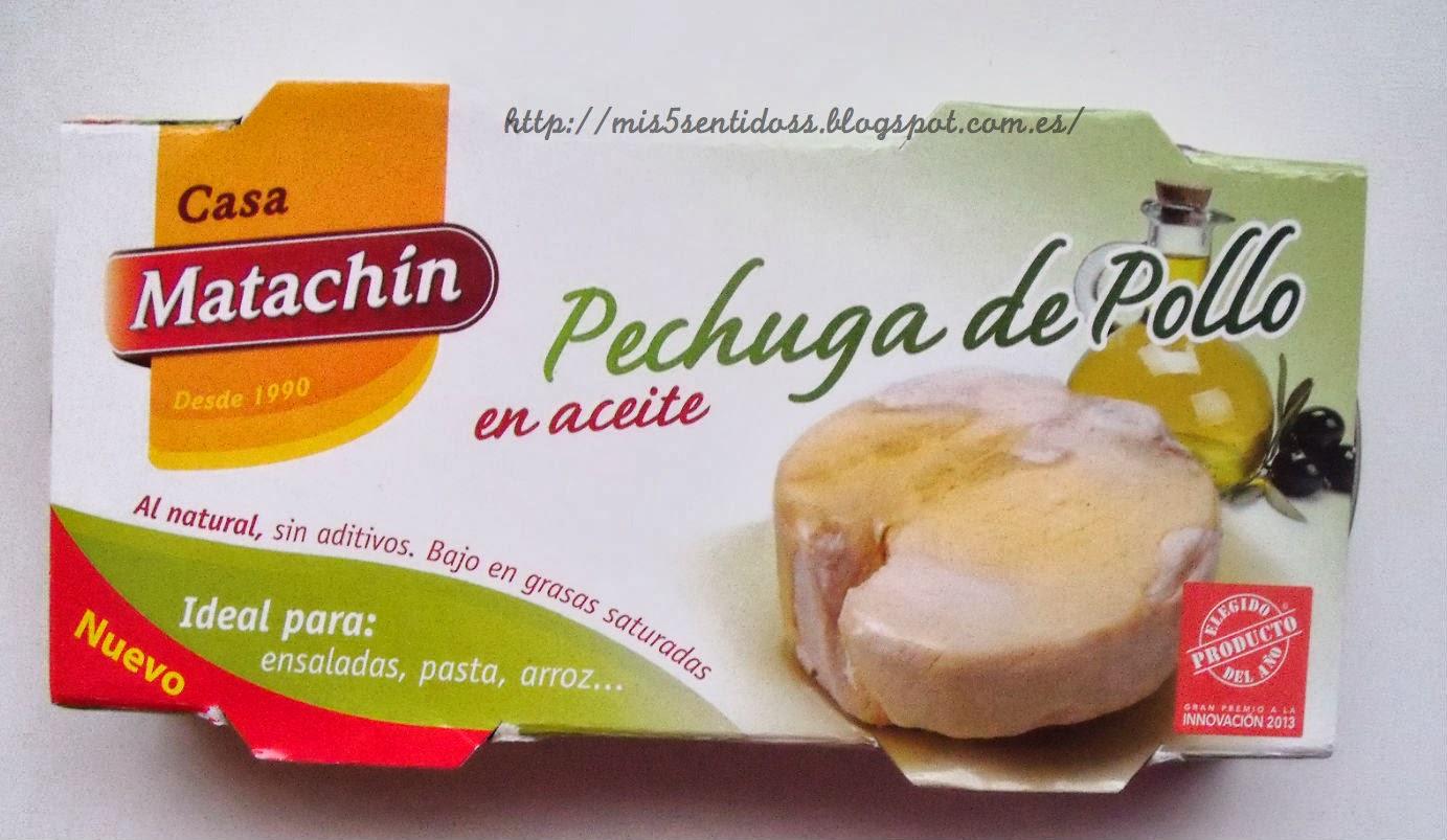 Matachín pechuga de pollo Degustabox febrero 2014
