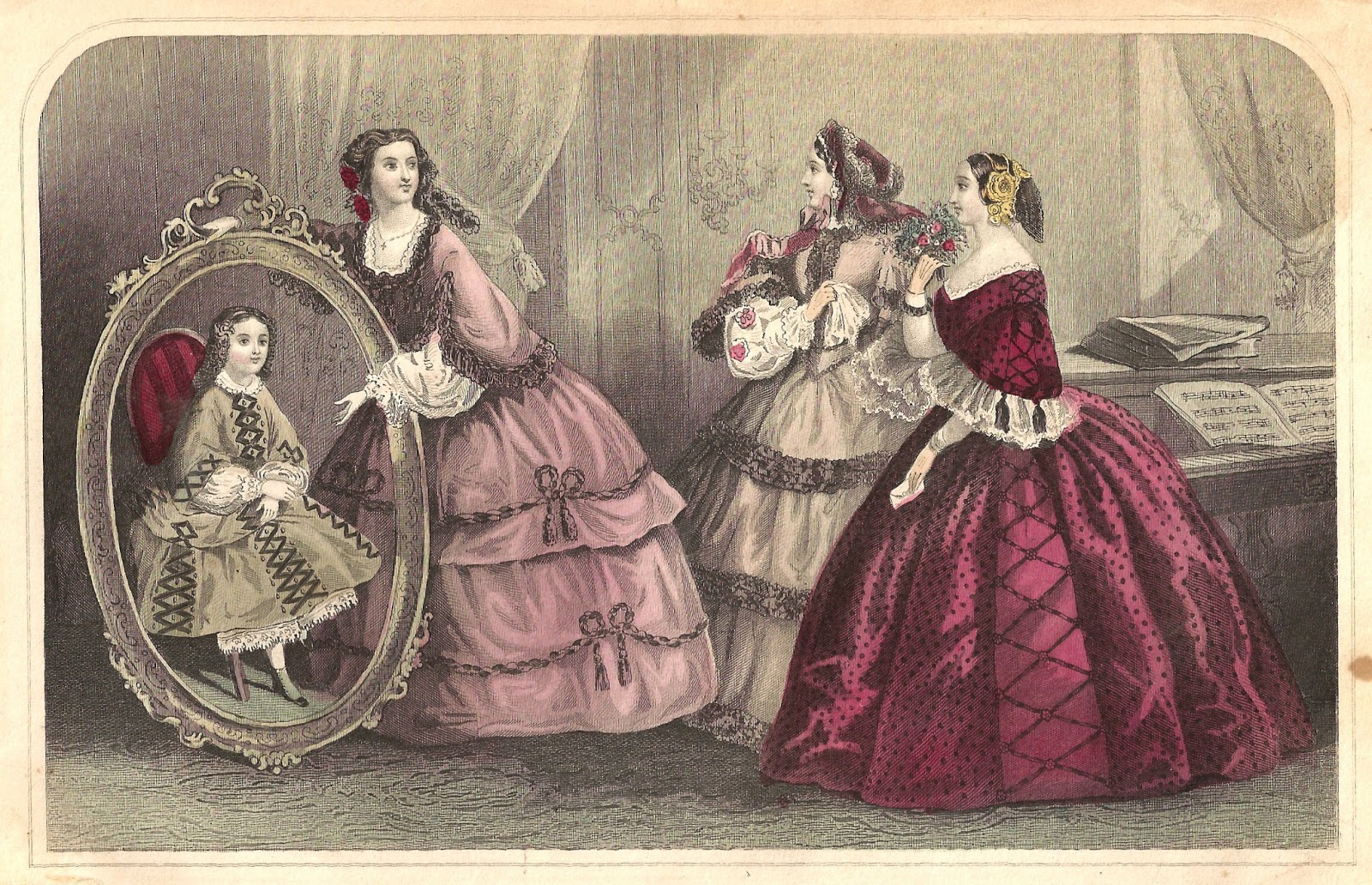 Antique Images: Free Antique Fashion - 651.6KB