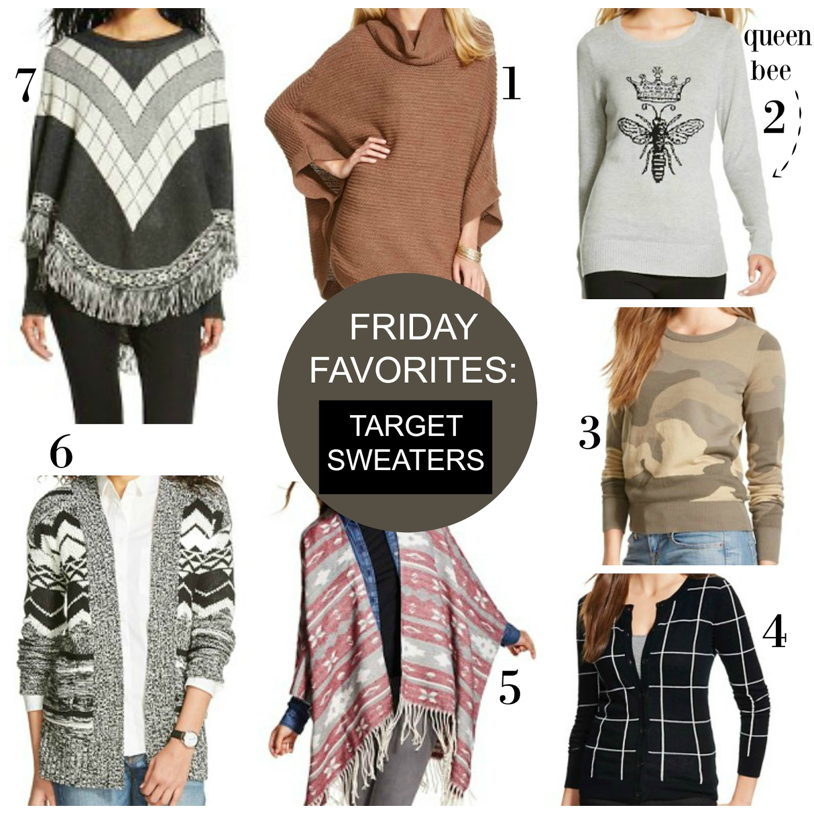 Tracy's Notebook of Style: Friday Favorites: Target Sweaters BOGO ...