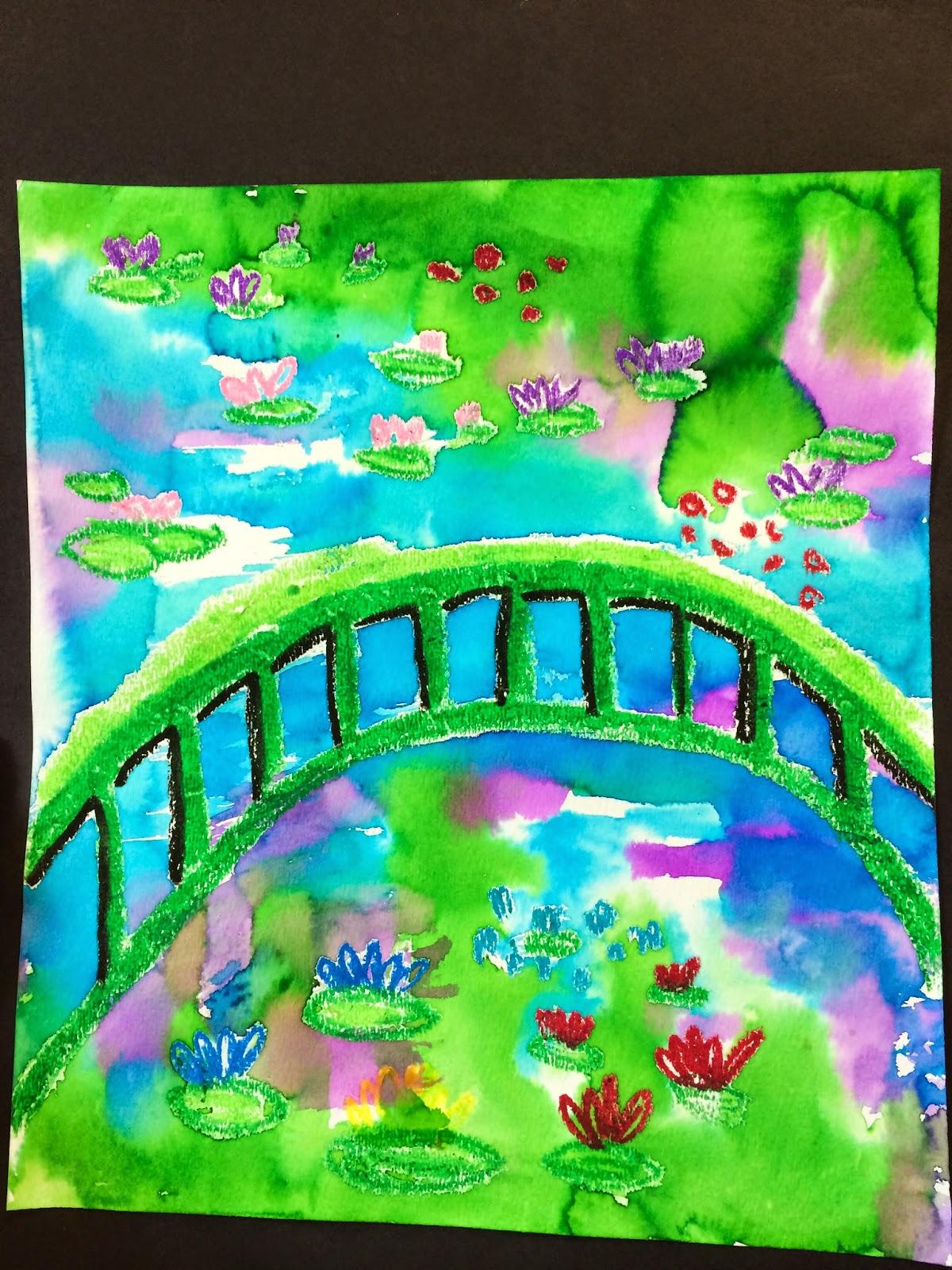 Claude Monetu0027s Garden 1st Grade