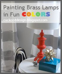 painting table lamps by cuckoo4design