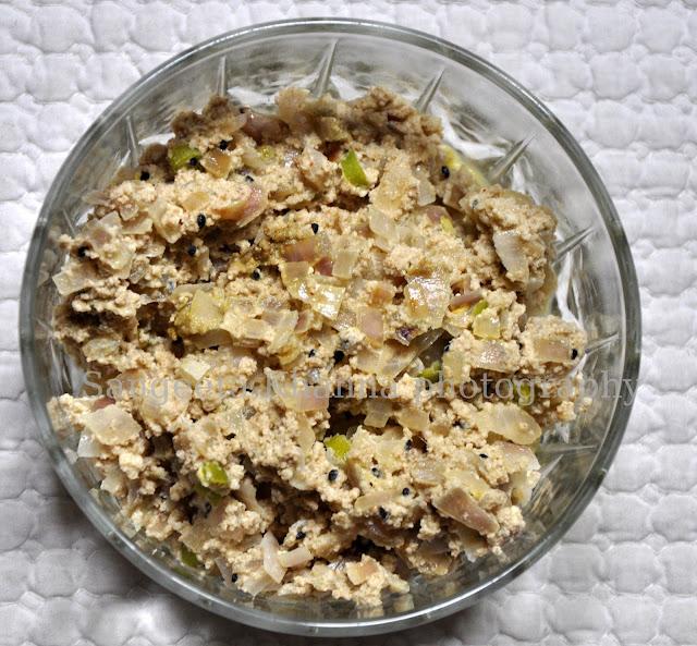 recipe of pyaz posto