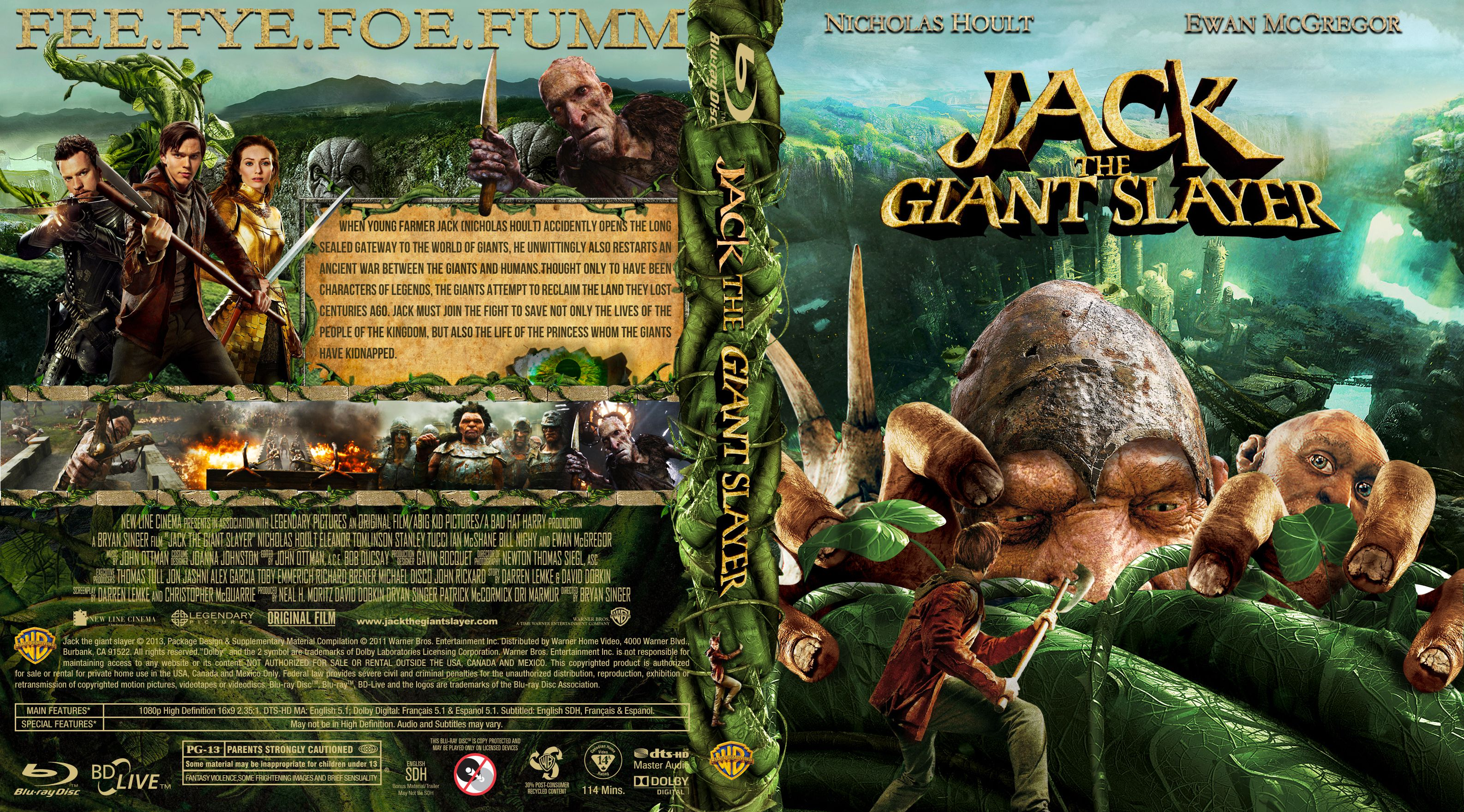 Capa Bluray Jack The Giant Slayer