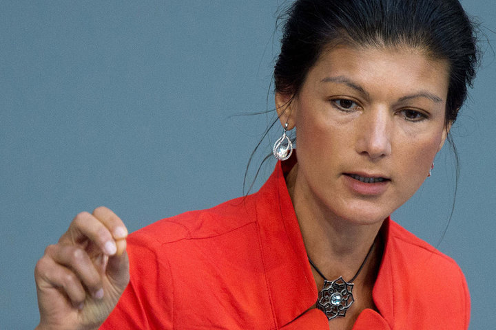 ... Politician Hammer Merkel for Being a US Stooge (Sahra Wagenknecht