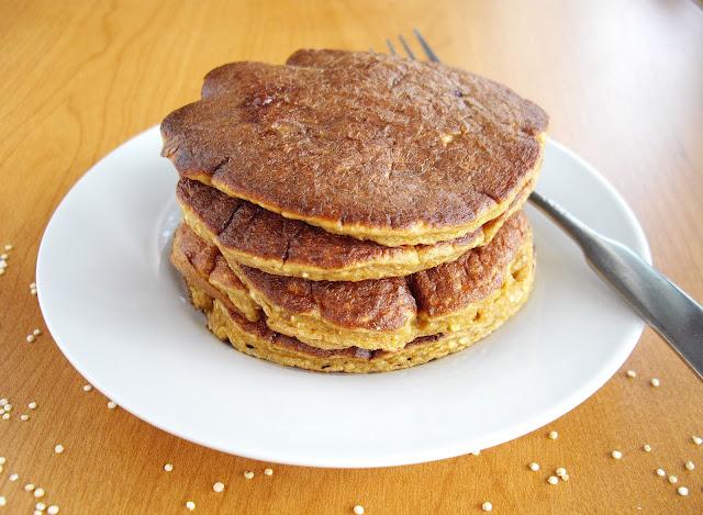 Quinoa Pancakes (Gluten Free)