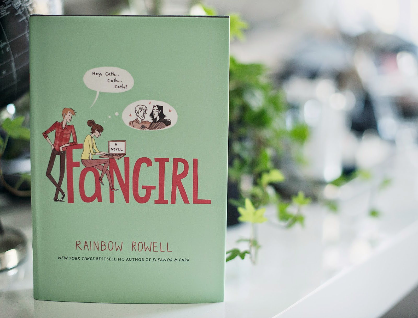 Book Recommendations Book Review Fangirl By Rainbow Rowell