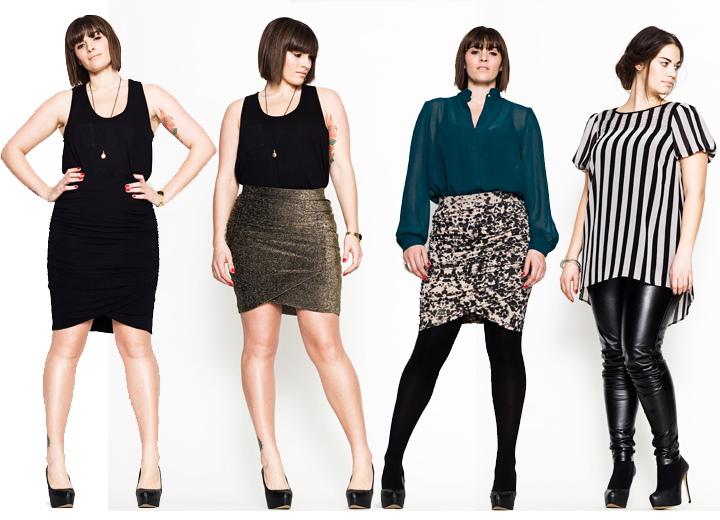 Plus Size Fashion Lookbook A Danish plus size fashion
