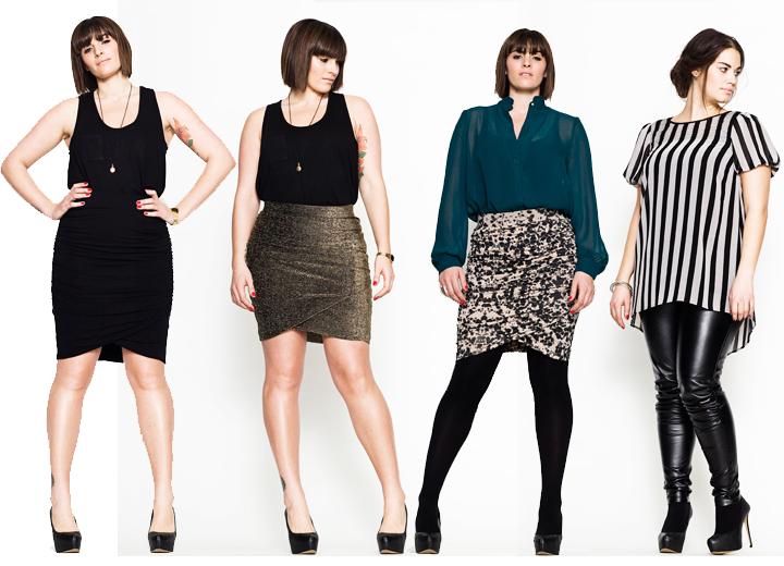 Plus Size Fashion Lookbook A Danish plus size fashion