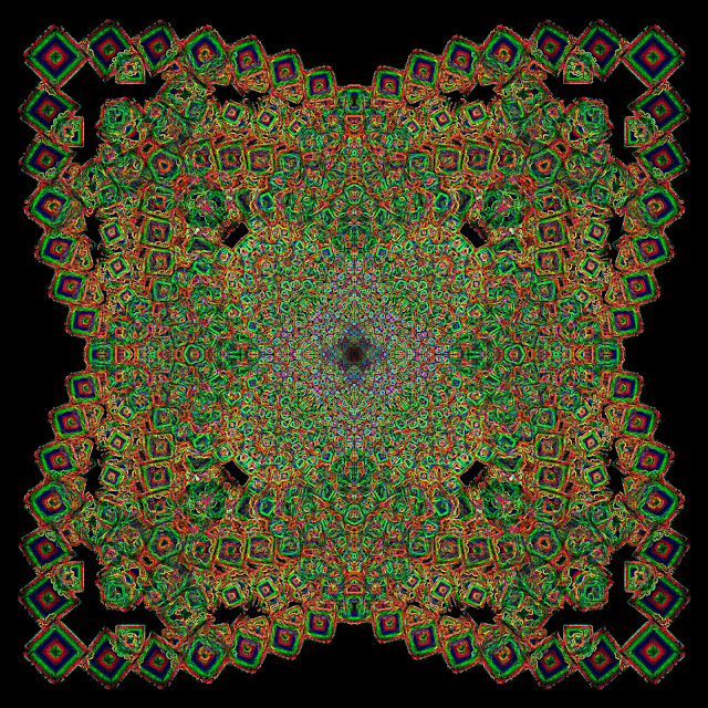 mandalas, fractales, patterns, efectos visuales, efectos opticos