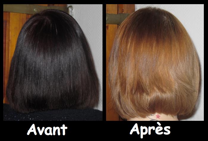 1 tube 7 applications - Gele Claircissante Garnier Sur Cheveux Colors