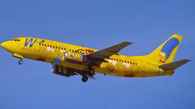 Aviões dos Simpsons - Aviões temáticos para fãs