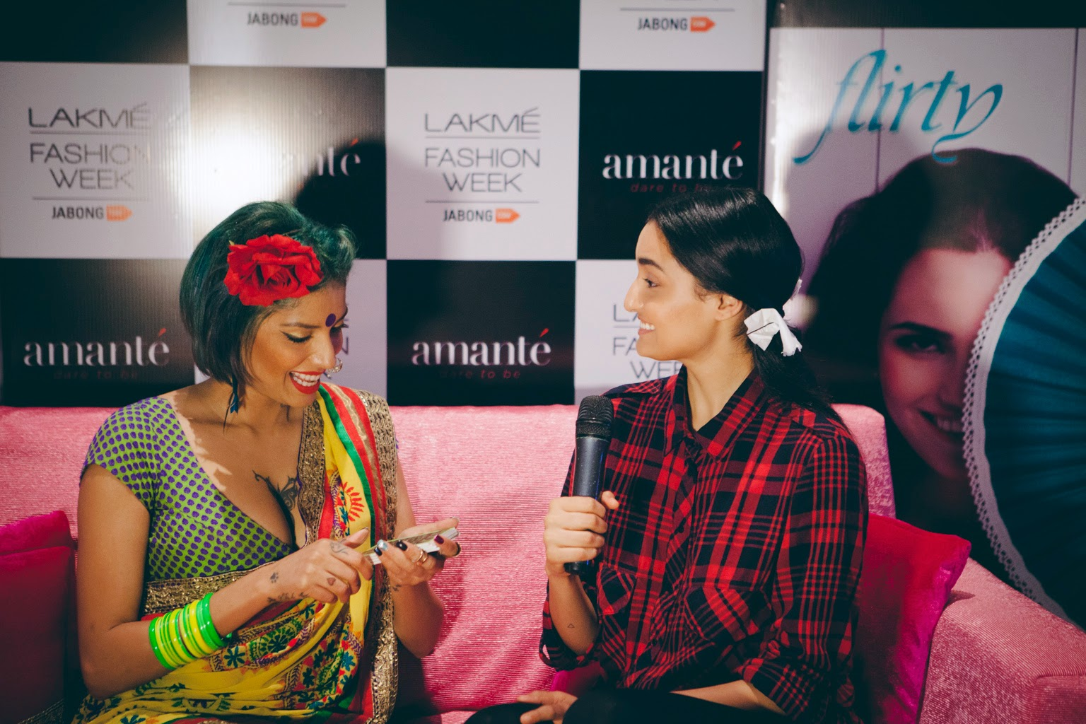 the pink couchamanté - lakme fashion week | the shopaholic