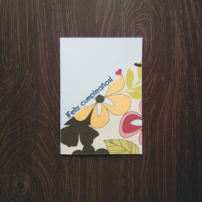 tarjetas con papeles de scrapbooking