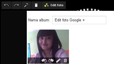 Cara Edit Foto di Google+ (Plus)