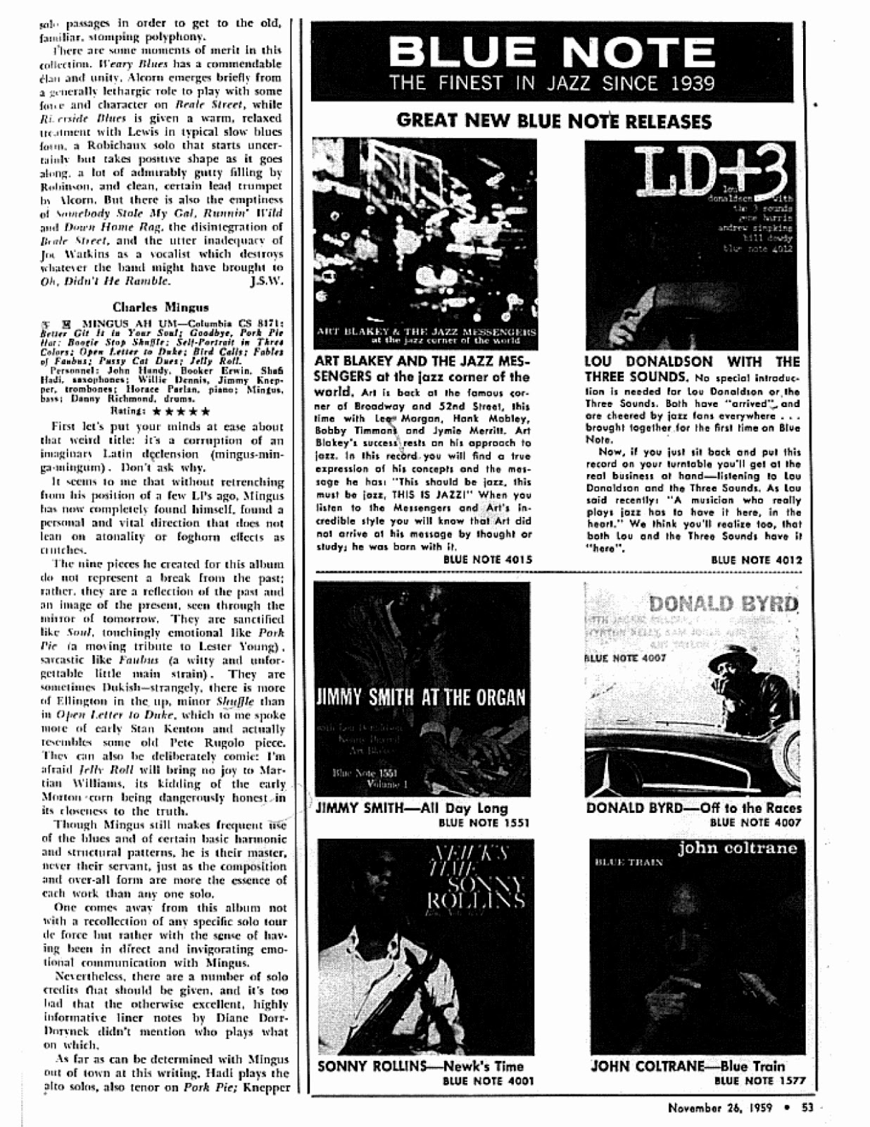 Down Beat Magazine Leonard Feather