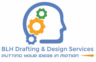 BLH Drafting & Design Services website