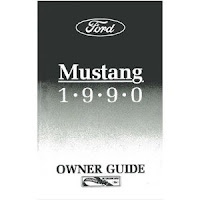 1990 Ford Mustang Owners Manual