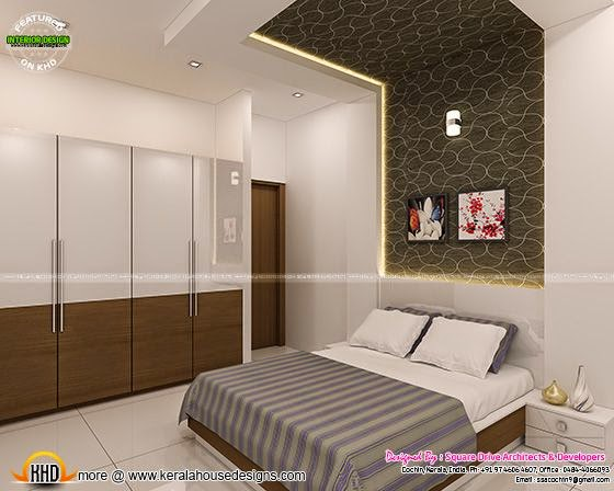 Interior decoration bedroom