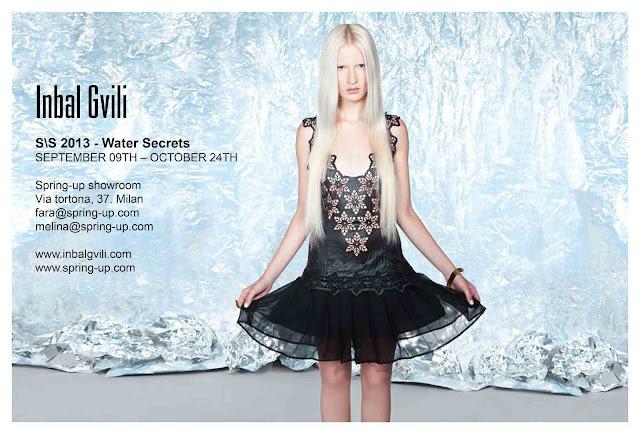 INBAL GVILI S/S 2013 Water Secret !