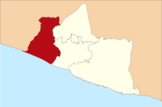Peta Wilayah Kabupaten Kulon Progo DI Yogyakarta