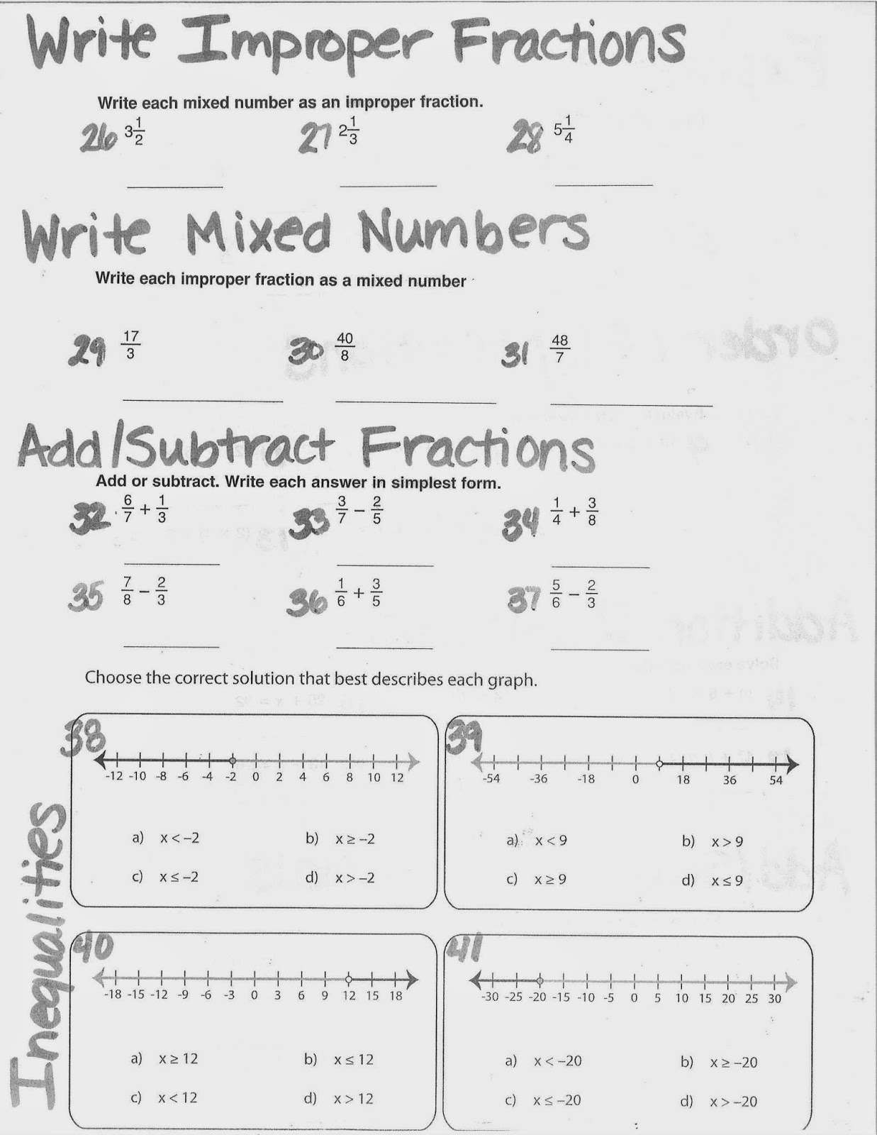 Mrs. White\'s 6th Grade Math Blog: REVIEW PACKET (DUE MONDAY)