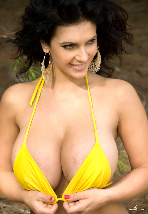 Denise Milani Hard Nipples 8