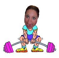 funny workout picture, working out. strengthening my muscles