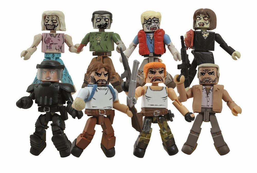 The Walking Dead Minimates Series 5 - Toys R Us Assortment