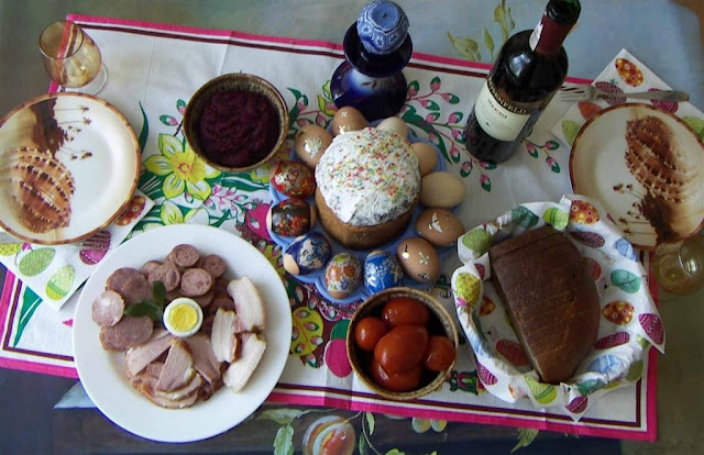 Easter Brunch, West Ukraine