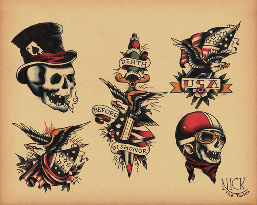 traditional tattoo flash wallpaper - photo #21