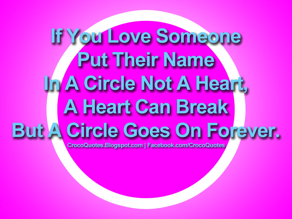 Circle is the new symbol for LOVE