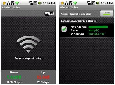 Menggunakan Wi-Fi hotspot dengan gratis