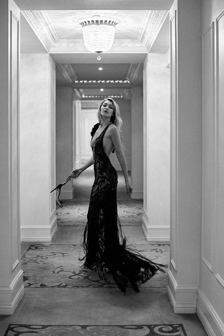 GIGI HADID – VANITY FAIR MAGAZINE PHOTOSHOOT (SEPTEMBER 2015)