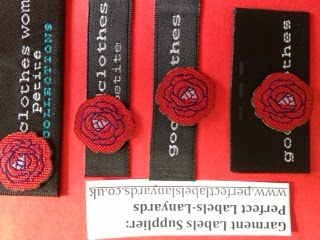 Custom Clothing Woven Labels