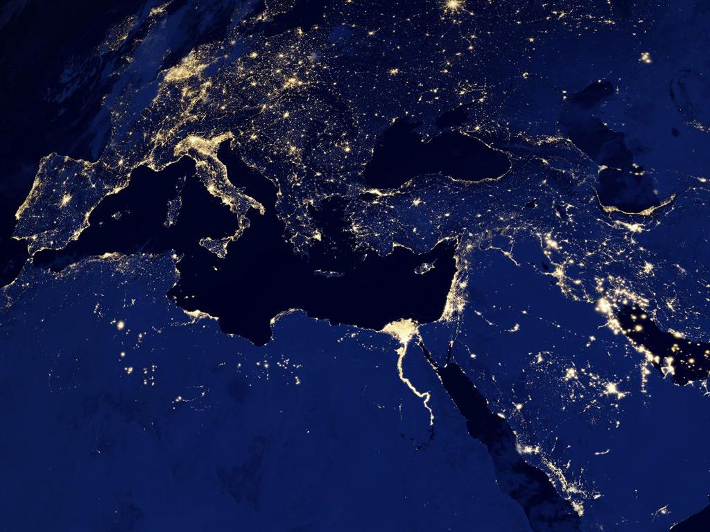 Online Maps Pictures Of Earth At Night