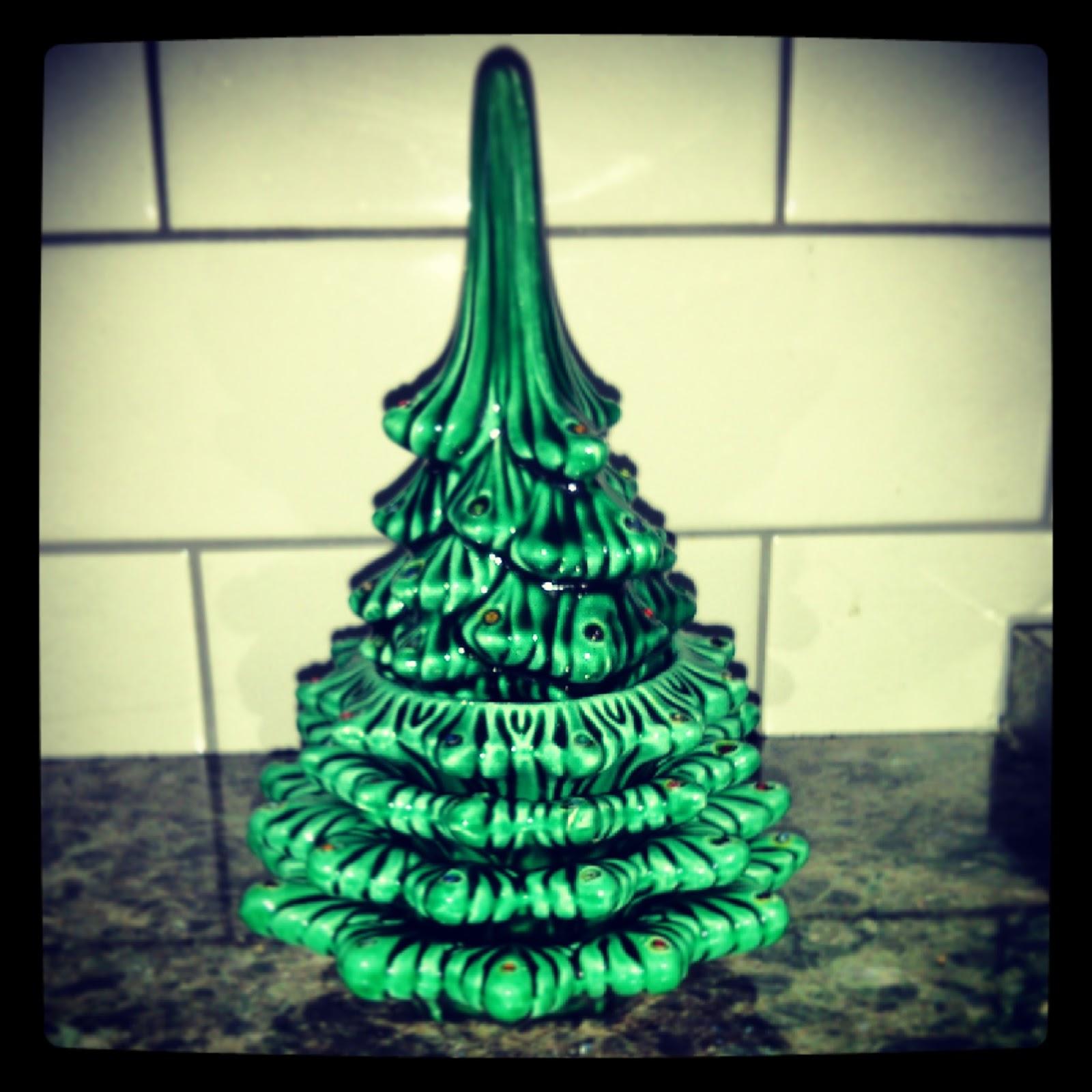Vintage Silver Christmas Tree. Pink Christmas Mantel Decor. 100 ...