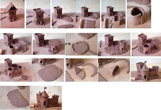 Декор для аквариума из глины своими руками 89