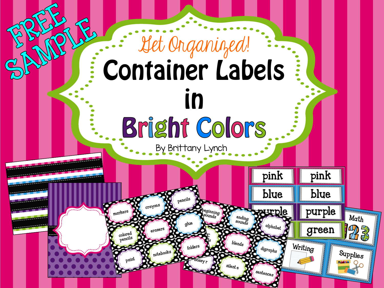 Container Labels - Free Sample