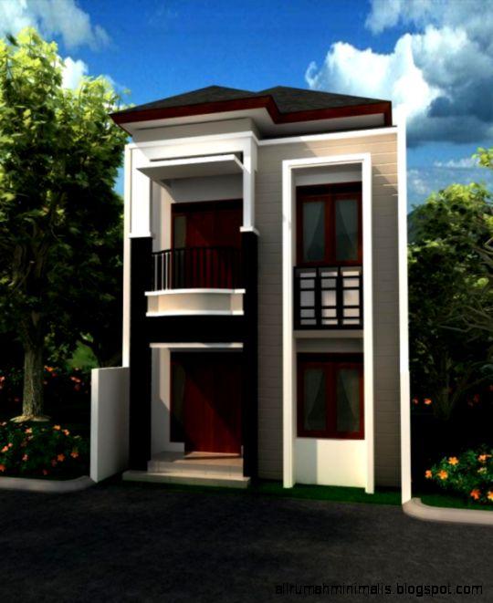 Rumah Minimalis Modern 2 Lantai   Picture Design