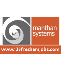 Manthan Systems Openings For Freshers 2015