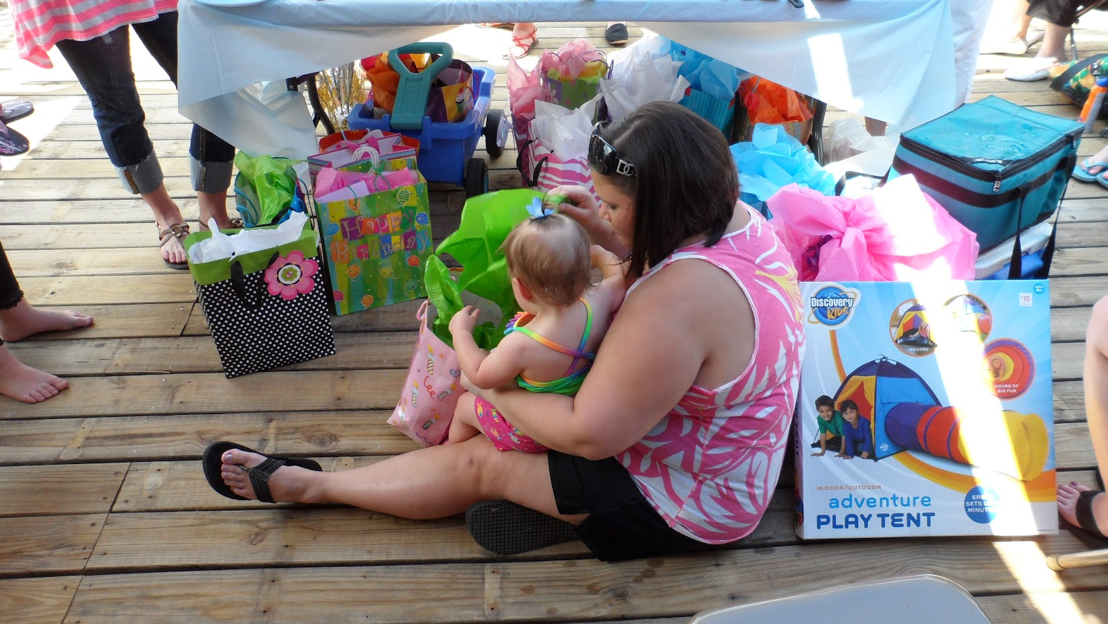 Little Precious Moments In Time Hadleys First Birthday Party